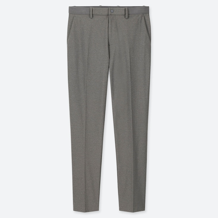 MEN EZY ULTRA STRETCH ANKLE LENGTH TROUSERS