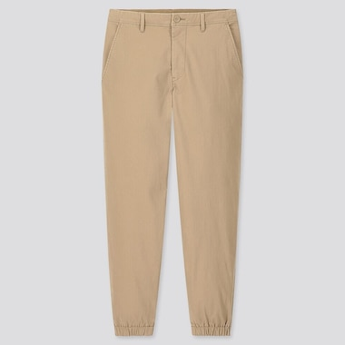 MEN EZY JOGGER PANTS (ONLINE EXCLUSIVE), BEIGE, medium