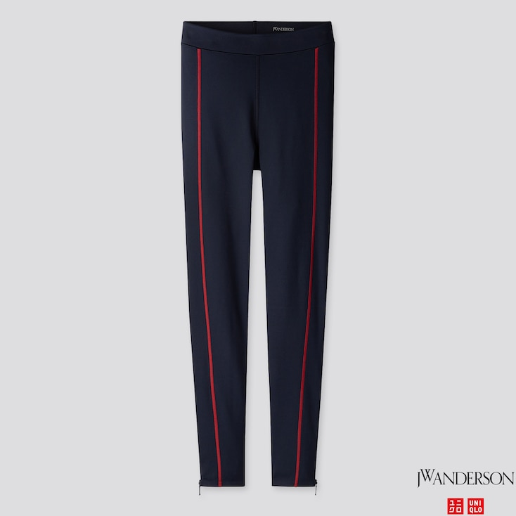 Women Airism Leggings (Jw Anderson), Navy, Large