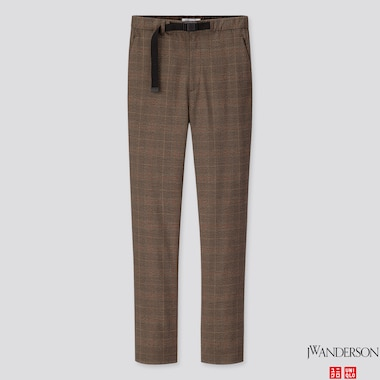 WOMEN STRAIGHT PANTS (JW ANDERSON), DARK BROWN, medium
