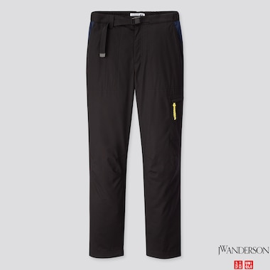 WOMEN WARM-LINED PANTS (JW Anderson), BLACK, medium