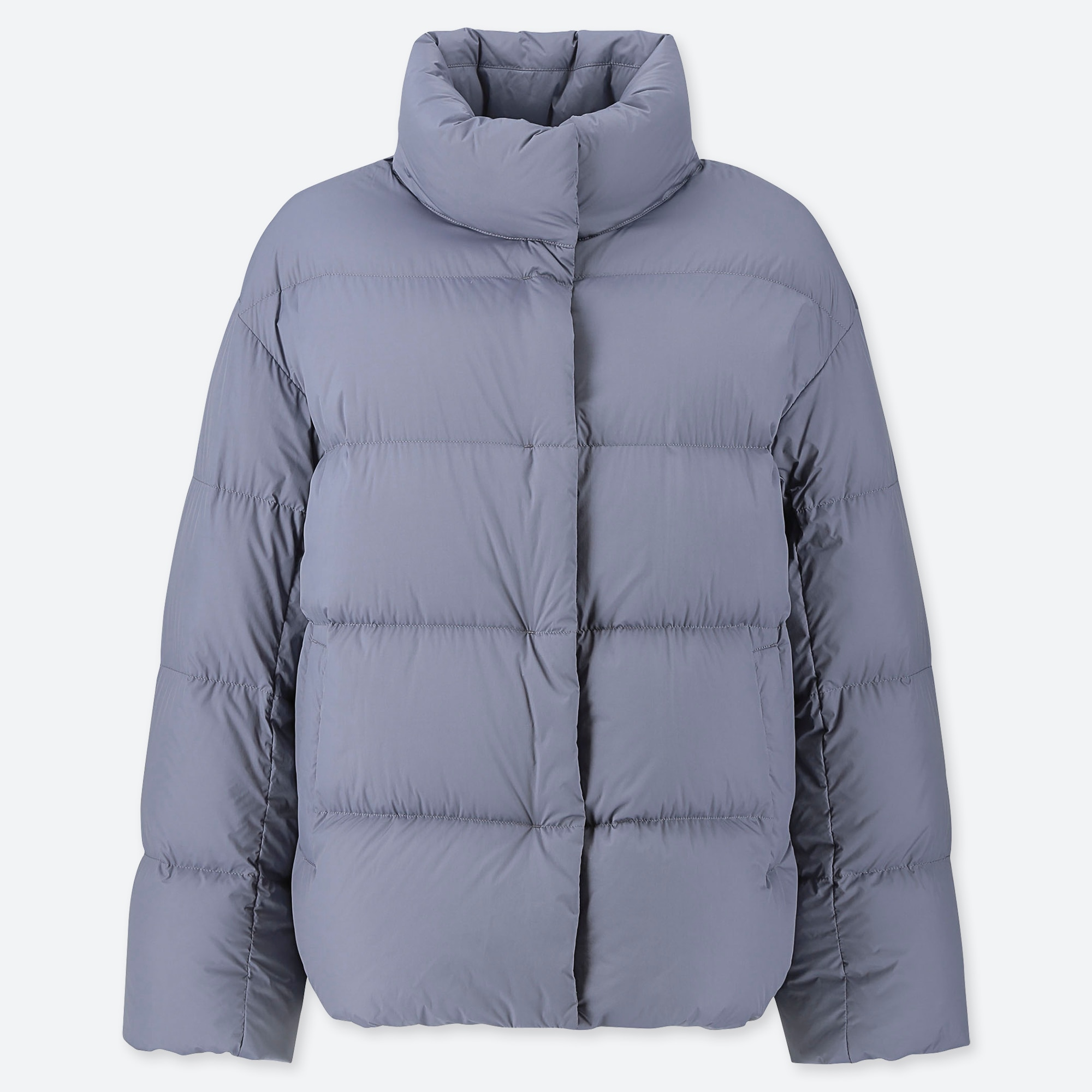 WOMEN ULTRA LIGHT DOWN COCOON SILHOUETTE JACKET