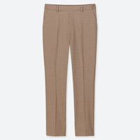 EZY TATTERSALL ANKLE-LENGTH PANTS