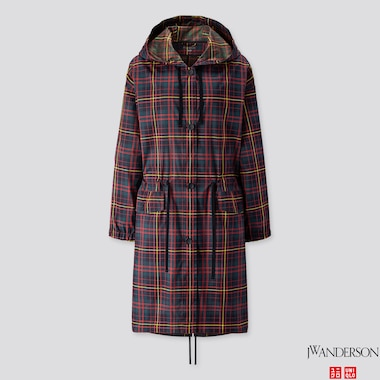 WOMEN POCKETABLE COAT (JW ANDERSON), DARK GREEN, medium