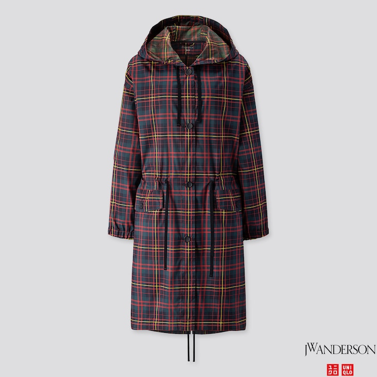 Women Pocketable Coat (jw Anderson), Dark Green, Large