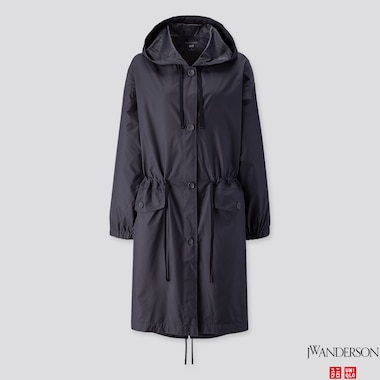 WOMEN POCKETABLE COAT (JW ANDERSON), NAVY, medium