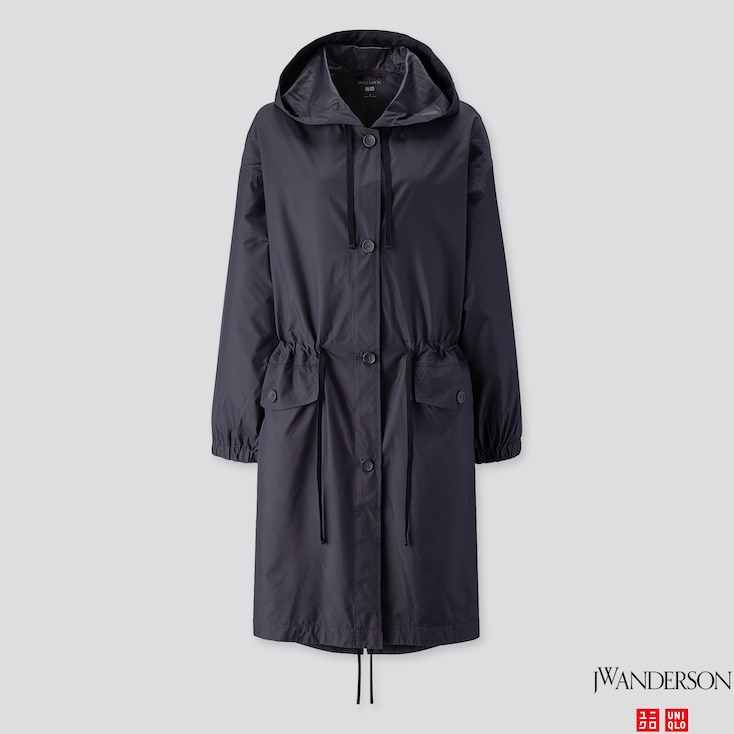 WOMEN POCKETABLE COAT (JW ANDERSON), NAVY, large