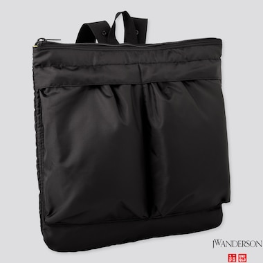 REVERSIBLE 2-WAY BAG (JW ANDERSON), BLACK, medium