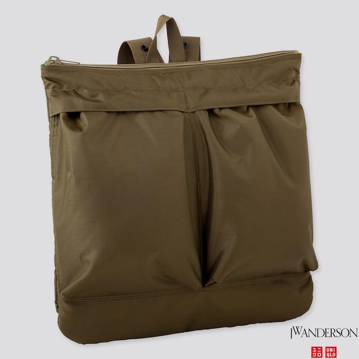 REVERSIBLE 2-WAY BAG (JW ANDERSON), OLIVE, large