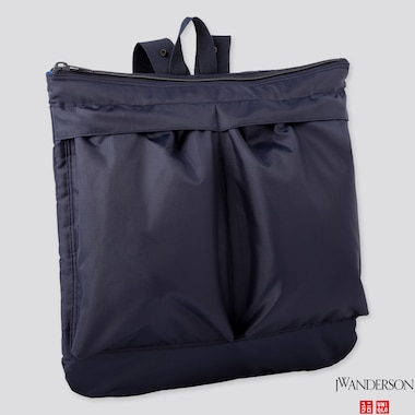 REVERSIBLE 2-WAY BAG (JW ANDERSON), NAVY, medium