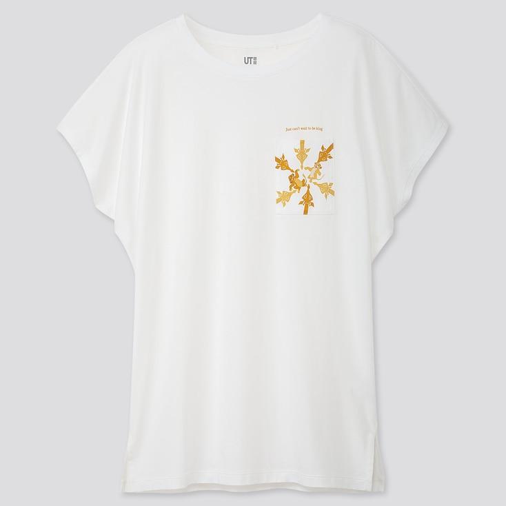 Women The Lion King Ut (short-sleeve Graphic T-shirt), White, Large