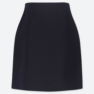 WOMEN SATIN STRETCH MINI SKIRT