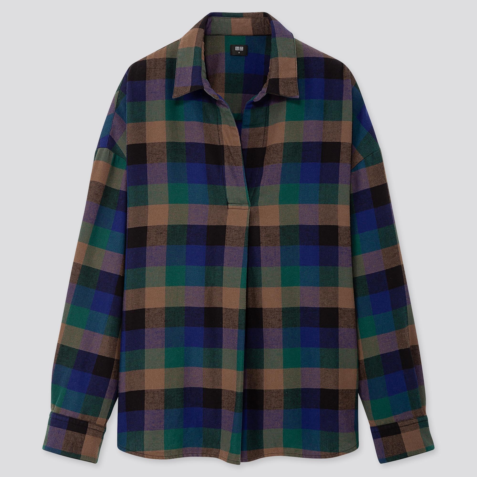 Chemises FemmeUniqlo Flanelle Chemises En En Chemises FemmeUniqlo FemmeUniqlo Chemises En Flanelle Flanelle BorCxde