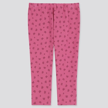 BABIES TODDLER FLOWER PRINT LEGGINGS
