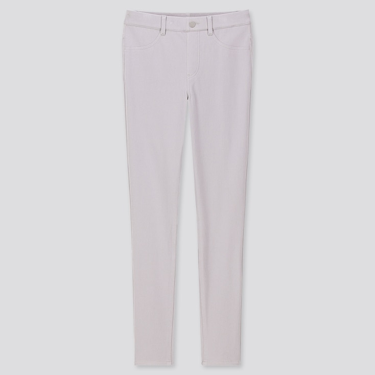 """Women Ultra Stretch Leggings Pants (tall 32"""") (online Exclusive), Light Gray, Large"""