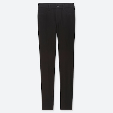 "WOMEN ULTRA STRETCH LEGGINGS PANTS (TALL 32"") (ONLINE EXCLUSIVE), BLACK, medium"
