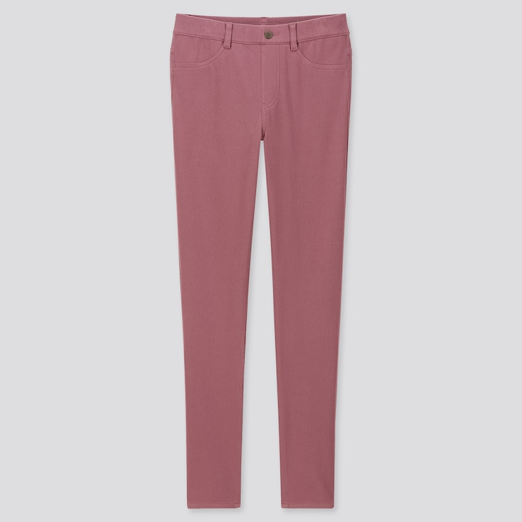 """WOMEN ULTRA STRETCH LEGGINGS PANTS (TALL 32"""") (ONLINE EXCLUSIVE), WINE, large"""