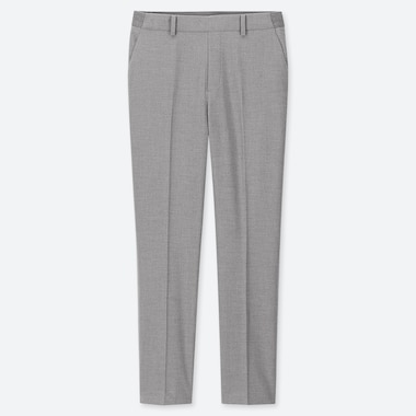 "WOMEN EZY ANKLE-LENGTH PANTS (TALL 30"") (ONLINE EXCLUSIVE), GRAY, medium"