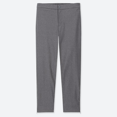 WOMEN HEATTECH WARM-LINED PANTS (ONLINE EXCLUSIVE), DARK GRAY, medium