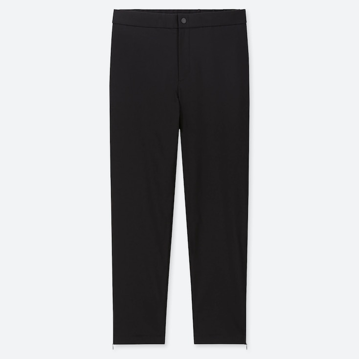WOMEN HEATTECH WARM-LINED PANTS (ONLINE EXCLUSIVE), BLACK, large