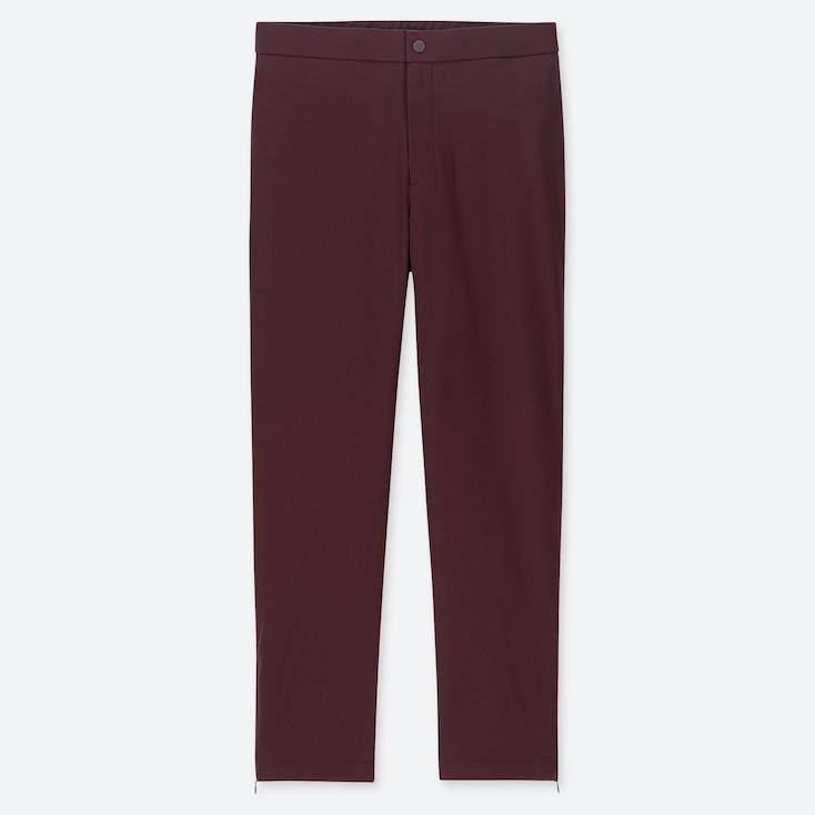 Women Heattech Warm-lined Pants (online Exclusive), Wine, Large