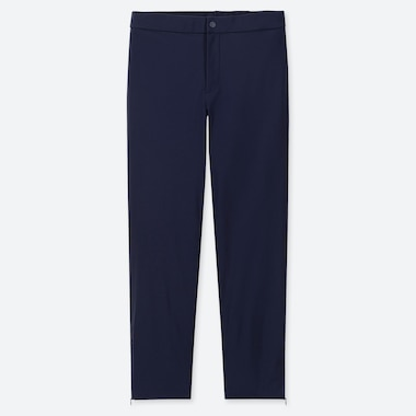 WOMEN HEATTECH WARM-LINED PANTS (ONLINE EXCLUSIVE), NAVY, medium