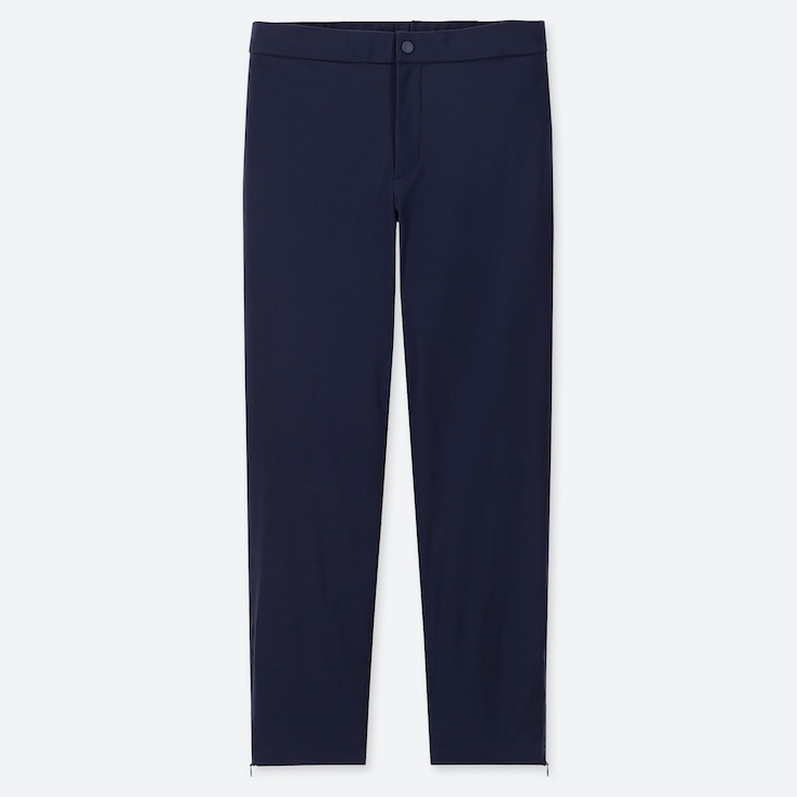 WOMEN HEATTECH WARM-LINED PANTS (ONLINE EXCLUSIVE), NAVY, large