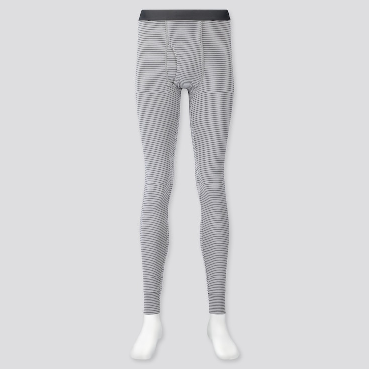 MEN HEATTECH LONG JOHNS, GRAY, large