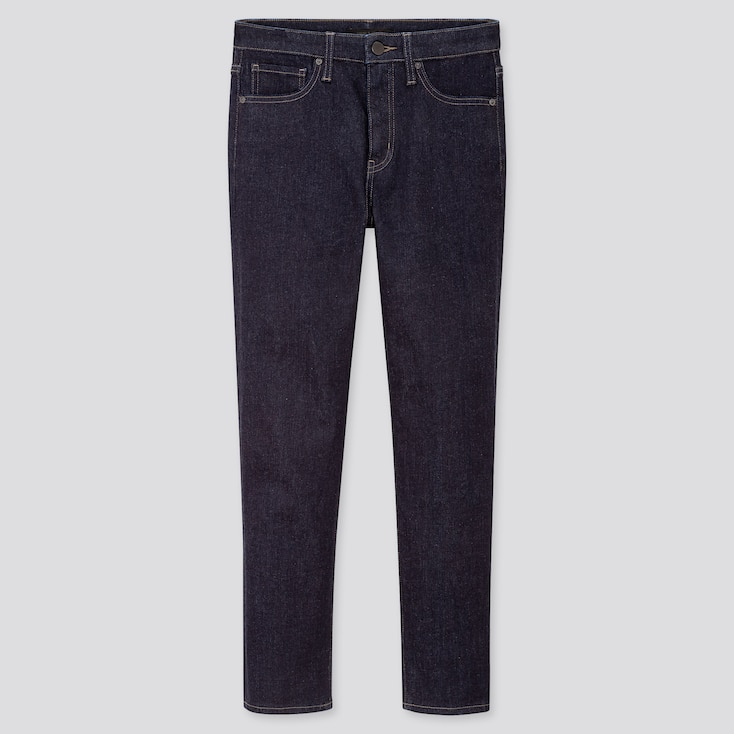 """WOMEN COMPRESSION HIGH-RISE SKINNY STRAIGHT ANKLE-LENGTH JEANS (TALL 31"""") (ONLINE EXCLUSIVE), NAVY, large"""