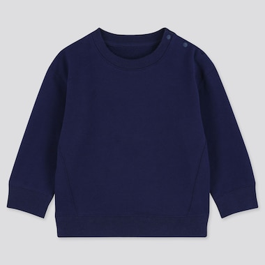 BABIES TODDLER FLEECE LINED LONG SLEEVED SWEATSHIRT
