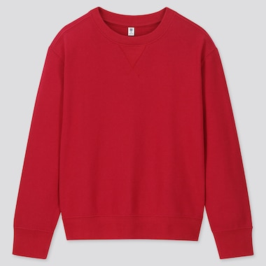 Kids Sweatshirt, Red, Medium