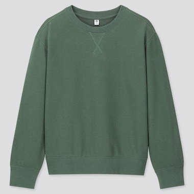 KIDS SWEATSHIRT, GREEN, medium