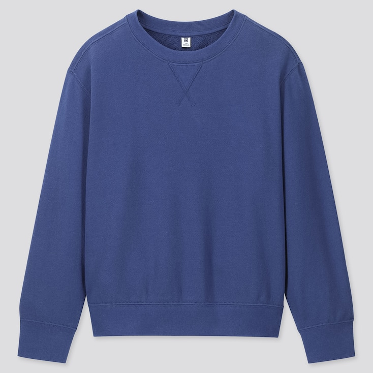 Kids Sweatshirt, Blue, Large