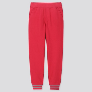 KIDS SWEATPANTS, RED, medium