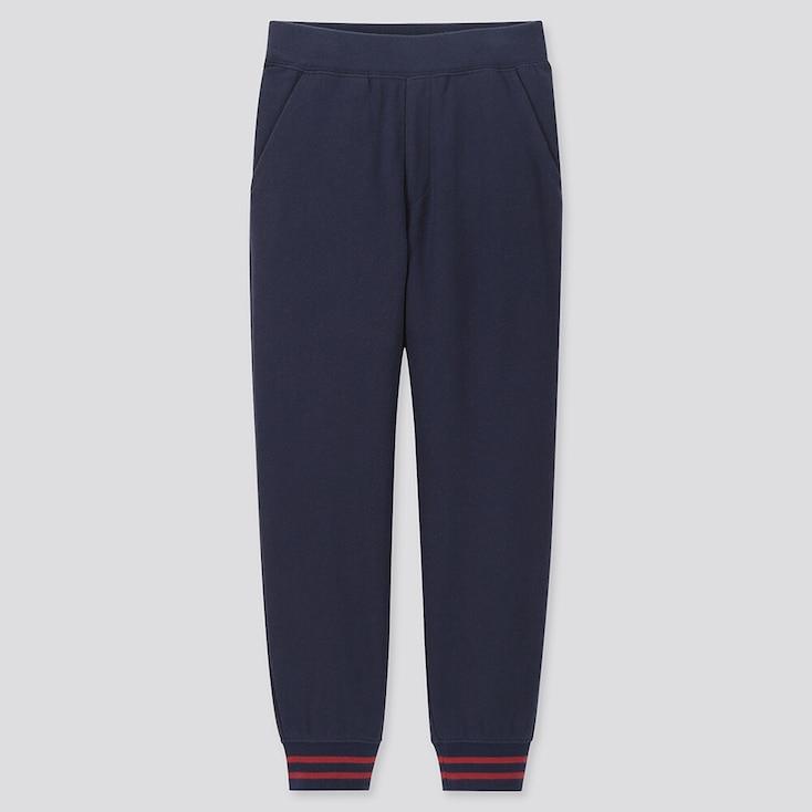 Kids Sweatpants, Navy, Large