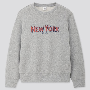 KINDER UT BEDRUCKTES SWEATSHIRT CITY STORIES