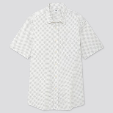 Men S Casual Shirts Linen Cotton Oxford Denim More Uniqlo Us