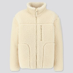 Fluffy Yarn Fleece Full-Zip Blouson/us/en/421939.html