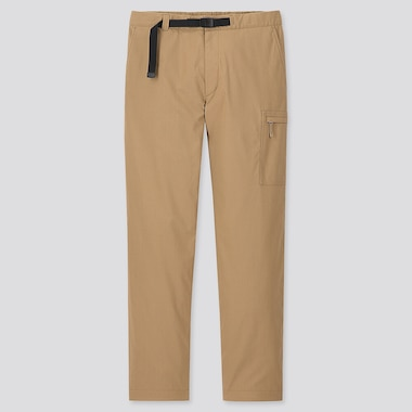 MEN HEATTECH WARM-LINED PANTS, BEIGE, medium