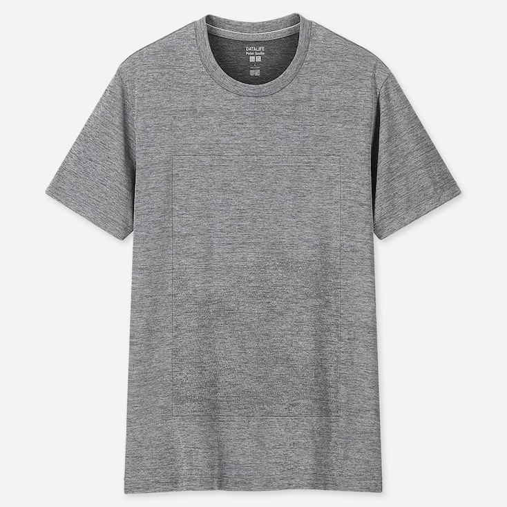 MEN DRY-EX PETER SAVILLE CREW NECK SHORT-SLEEVE T-SHIRT (ONLINE EXCLUSIVE), GRAY, large
