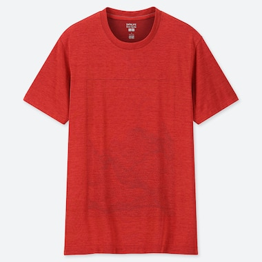 MEN DRY-EX PETER SAVILLE CREW NECK SHORT-SLEEVE T-SHIRT (ONLINE EXCLUSIVE), RED, medium