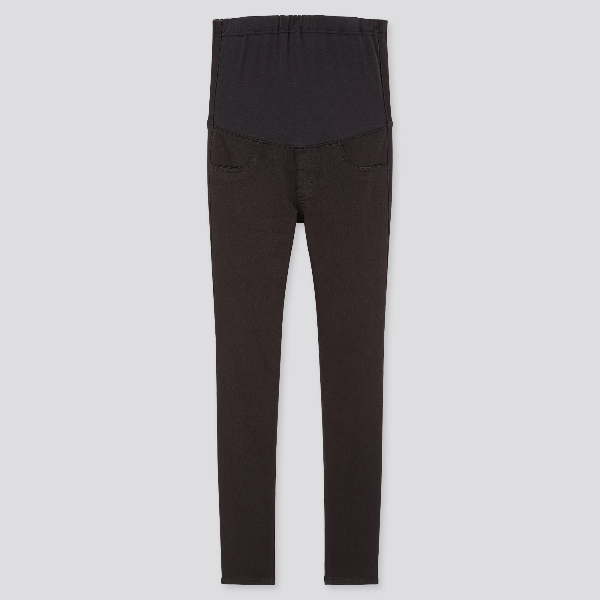 FREE P/&P Black//Grey Work Trousers Womens Clothing Maternity Trousers