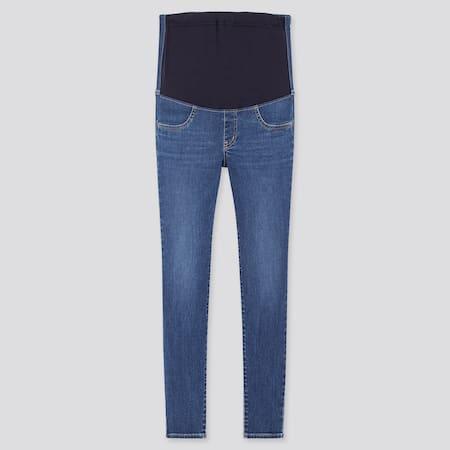 Women Ultra Stretch Skinny Fit Maternity Jeans (Long)