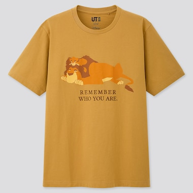 THE LION KING UT (SHORT-SLEEVE GRAPHIC T-SHIRT), YELLOW, medium