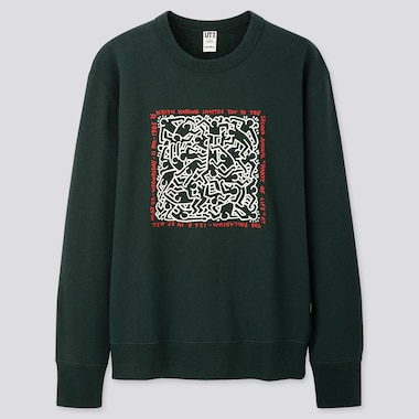 UT KEITH HARING PARTY OF LIFE SWEAT GRAPHIQUE HOMME