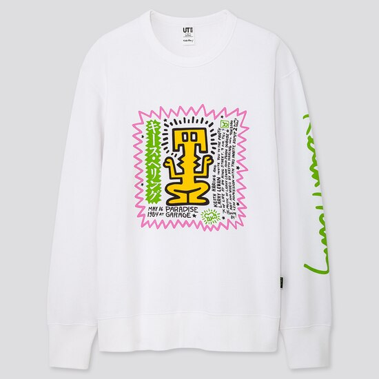 Men Keith Haring Party Of Life Ut Graphic Sweatshirt  (1) by Uniqlo