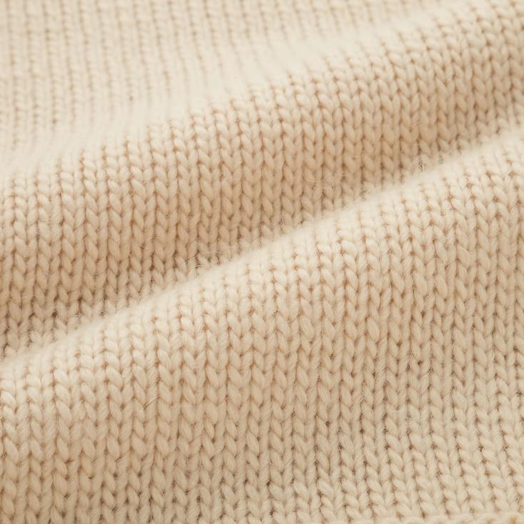 Men Low Gauge Crew Neck Long-Sleeve Sweater (Jw Anderson), Yellow, Large