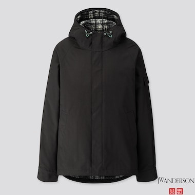 MEN 3-WAY MILITARY PARKA (JW ANDERSON), BLACK, medium