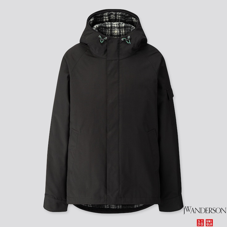 Men 3-Way Military Parka (Jw Anderson), Black, Large