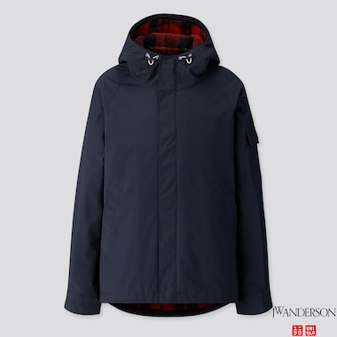 MEN 3-WAY MILITARY PARKA (JW ANDERSON), NAVY, medium